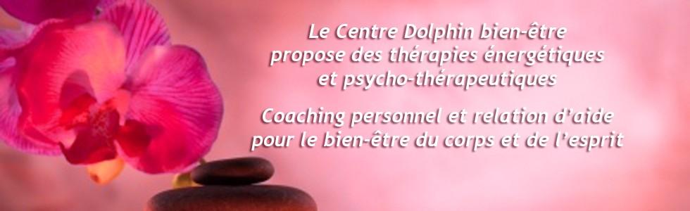 Centre Dolphin bien-être : thérapies énergétiques et psycho-thérapeutiques, reiki, rebirth, hypnose ericksonienne